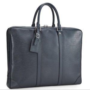 Louis Vuitton Epi porter document voyage briefcase
